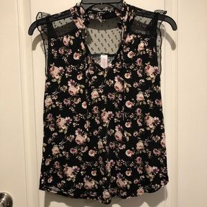 Floral Extra Small Top!